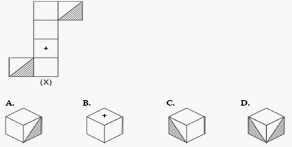 Dice reasoning practice questions with answers hitbullseye q2 choose a box which is similar to the box formed from the given sheet of paper ccuart Gallery