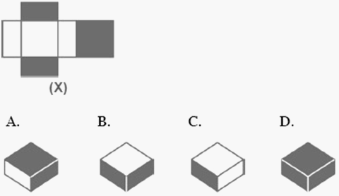 Dice reasoning practice questions with answers hitbullseye q3 choose a box that is similar to the box formed from the given sheet of paper ccuart Image collections