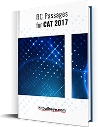 RC Passages for CAT 2017